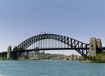 Мост Харбор, немного нескладный и неуклюжий