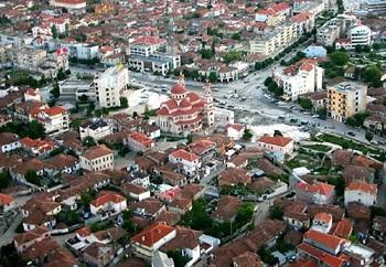 Средневековый городок Корча