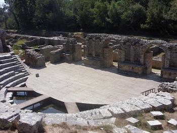 Древний город Бутринти