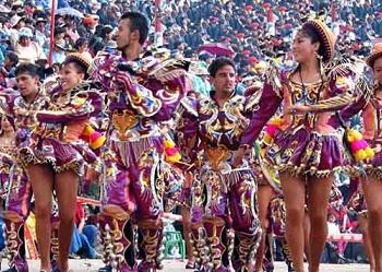 Оруро известен карнавалом