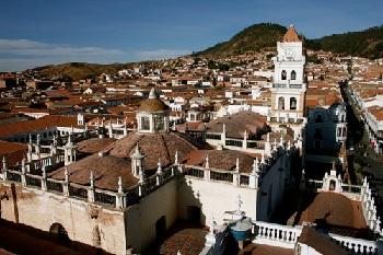 Столицей Боливии является город Сукре