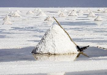 Солончак Уюни – это соляное озеро