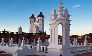 Столица Боливии — Сукре