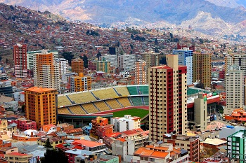 Ла-Пас — неофициальная столица Боливии