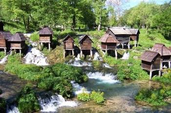 Средневековый город Яйце