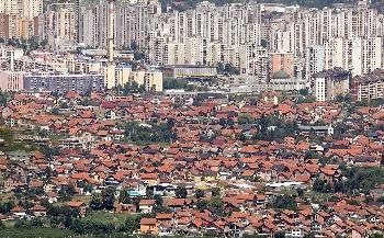 Сараево построен вдоль реки Миляцка