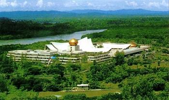 Резиденция правителя Брунея – султана Истана Нурул Имана