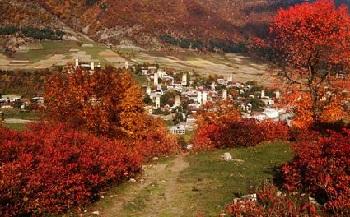 достопримечательность в Верхней Сванетии – община Бечо