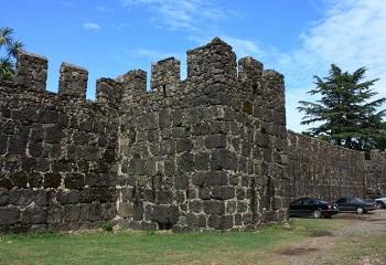 крепость - Гонио, Апсаре, Аспарунт