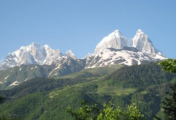 Ушба — гора-легенда