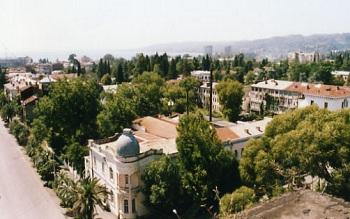 Столица Абхазии Сухуми
