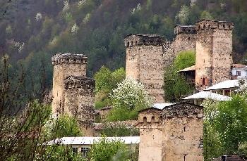 Сванские башни строились в VIII-XIII веках