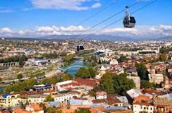 уютная столица Грузии - Тбилиси