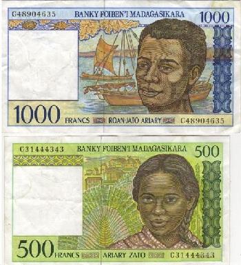 Валюта Мадагаскара