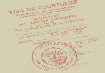 Виза на Мадагаскар