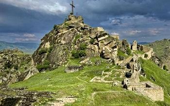 средневековая крепость, которая когда-то принадлежала королевичу Марко