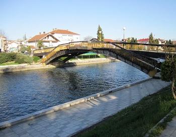 Небольшой городок Струга