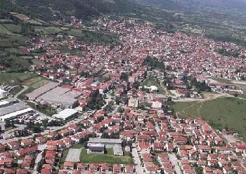 высокогорный городишко Дебар