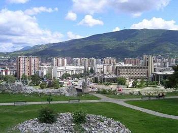 Столица Македонии,  город Скопье