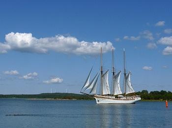 Круиз на паруснике «Linden»  вокруг Аландского архипелага