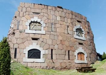 Развалины крепости Бомарсунд