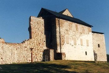 Старинный замок Кастельхольм в провинции Сунд