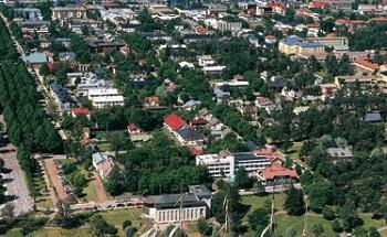 Единственный город на Аландских островах - столица Мариехамн