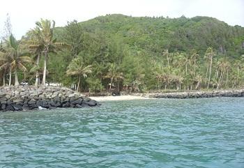 Небольшой островок Аунуу