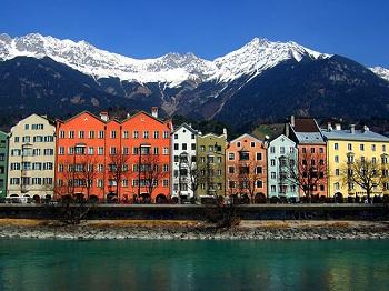 Инсбрук – город, затерянный в Альпах