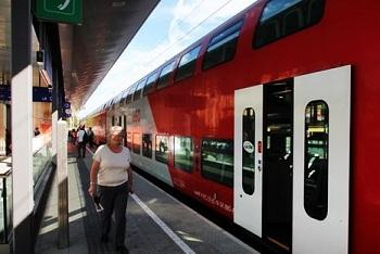 В Австрии очень развито железнодорожное сообщение