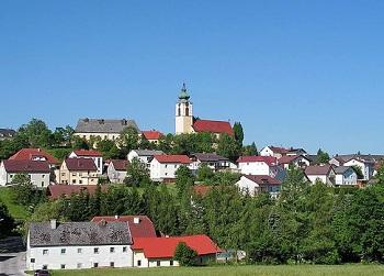 Местечко Бад Халл расположено в Верхней Австрии