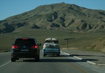 Путешествие на арендованном автомобиле по территории Азербайджана