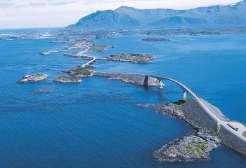 Норвегия поражает воображение своими мостами и туннелями