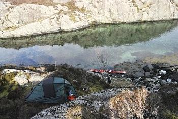 Вы можете поставить палатку