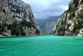 Зеленый каньон, расположен неподалеку от города Манавгат