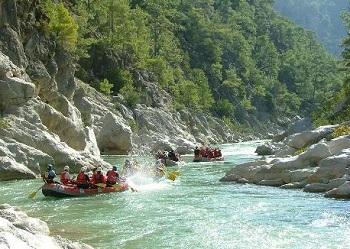 Почти все реки Турции не являются судоходными