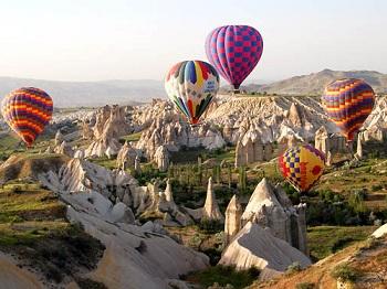 Каппадокия – одна из визитных карточек Турции
