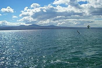 крупное пресноводное озеро Севан