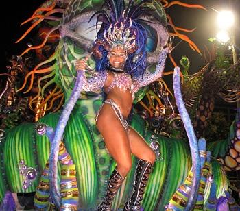 Карнавальные шествия в Рио-де-Жанейро