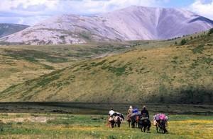 Монголия - страна бескрайних степей