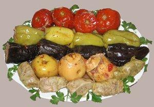 Овощи в Армянской кухне