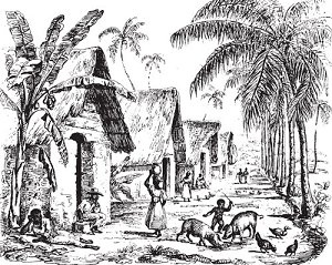 индейские племена Диагита