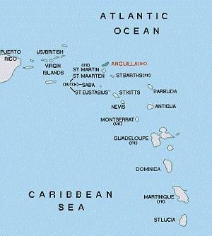Ангилья направила лодки в Сент-Киттс и на остров Антигуа, с просьбой защитить их