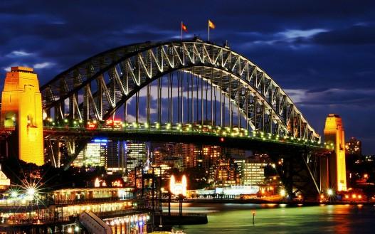 Мост Харбор в Австралии