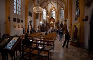 В 1494 году церковь была торжественно освящена