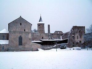 Епископский замок в Хаапсалу.