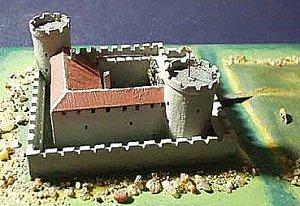 Макет замка