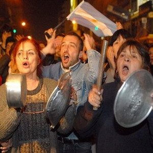 Голодная забастовка в Аргентине