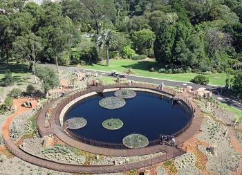 Этот знаменитый сад в Мельбурне был основан в середине 19 века