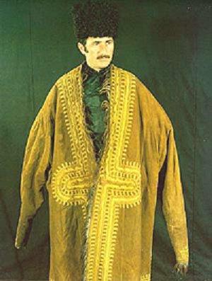 Азербайджанский мужской национальный костюм